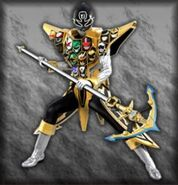 Gokai Silver Gold Mode (Dice-O)