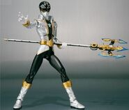 Silver Super Megaforce Ranger SH Figuarts