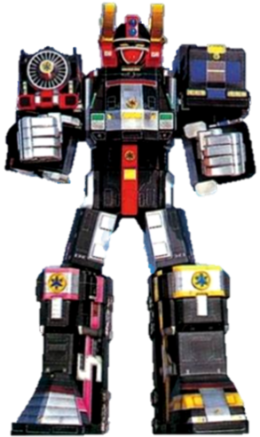 Supertrain Megazord
