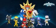 Power Rangers Wild Force in Power Rangers Dash