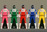 Bioman Ranger Keys