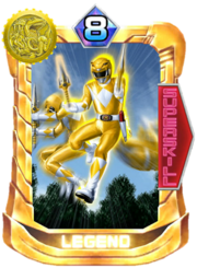 TigerRanger Card in Super Sentai Legend Wars