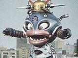 Comparison:Bara Hungry vs. Googleheimer the Toy Robot