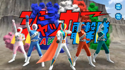 J.A.K.Q. Dengekitai in Super Sentai Legend Wars