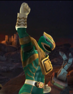Legacy Wars Mighty Morphin Green Ranger V2 Victory Pose