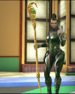 Legacy Wars Rita Repulsa 2017 Movie Victory Pose