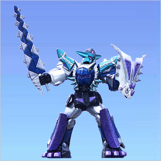 Replicant Zord/Blizzard Force Megazord