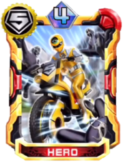 Yellow Mask Card in Super Sentai Legend Wars