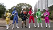 Ressha Sentai ToQger vs Kamen Rider Gaim Spring Break Combined Special