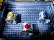3 main Dino Bracelets