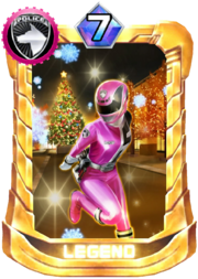 DekaPink Card in Super Sentai Legend Wars