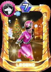 DekaPink Card in Super Sentai Legend Wars
