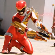 PRDSC Dino Armor X Red Ranger