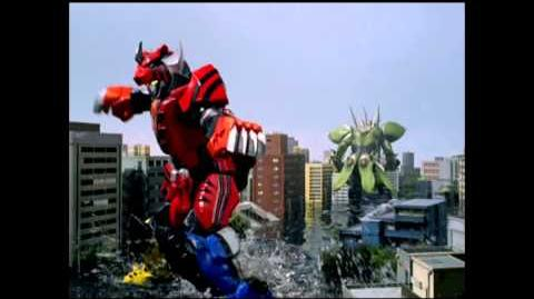 Power Rangers- Jungle Fury - Jungle Pride Megazord Finisher
