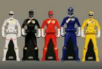 Gaoranger Ranger Keys
