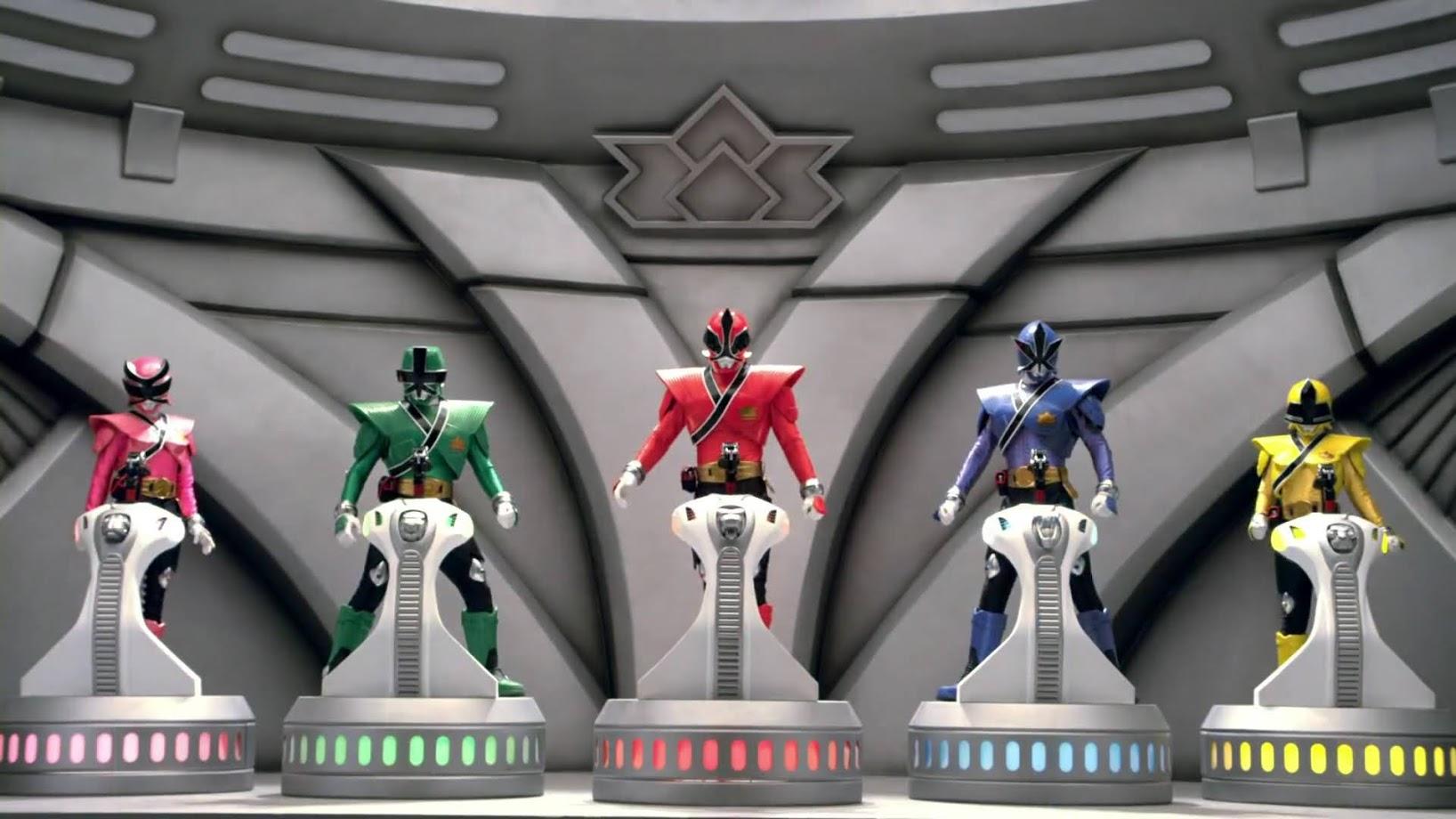 Samurai Megazord Rangerwiki Fandom Powered By Wikia