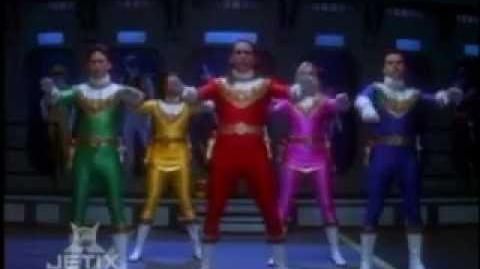 Power Rangers Zeo - Power Rangers First Team Morph