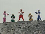 Dairanger (Super Sentai World)