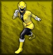Gokai Yellow (Dice-O)