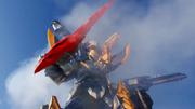 KSR-KishiRyuNeptune CosmoRaptor with Knight MeraMera Sword