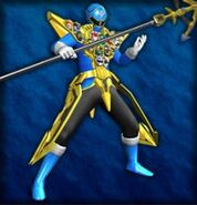 Gokai Blue Gold Mode (Dice-O)