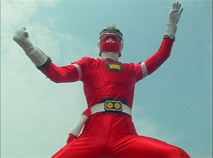 Red Racer Gaoranger vs. Super Sentai