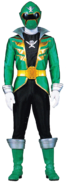 Green Super Megaforce Ranger
