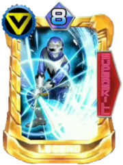 GingaBlue Card in Super Sentai Legend Wars