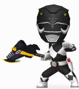 Mighty Morphin Black Ranger in Power Rangers Dash