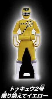 ToQ 2 Yellow Ranger Key
