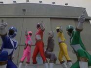 6 Lightspeed Rangers