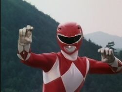 Mighty Morphin' Red Ranger 01