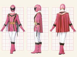 Розовый Мистический Рейнджер