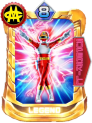 ChangeDragon Card in Super Sentai Legend Wars