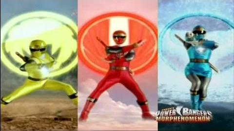 Power Rangers Ninja Storm - Power Rangers Morph 2