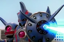 Silverhead robot