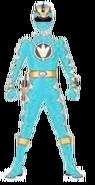 Cyan Dino Thunder Ranger
