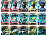 Comparison:Gosei Cards vs. Power Cards