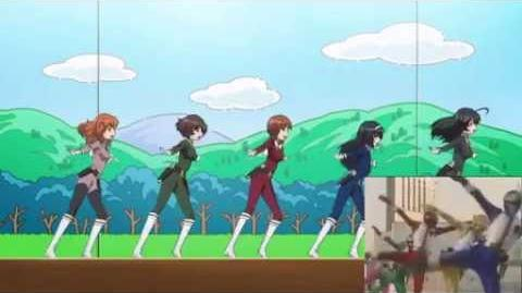 Girls und Panzer meets Gosei Sentai Dairanger