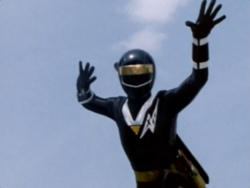 Black Alien Ranger 1