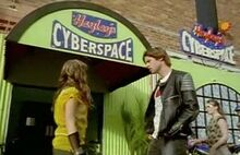 Cyberspace-cafe
