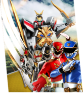 Gosei Ultimate Megazord Megazord Madness