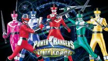 Power Rangers Time Force group