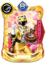Go-on Yellow Card in Super Sentai Legend Wars
