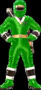 Green Mighty Morphin Alien Ranger