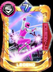 Pink Mask Card in Super Sentai Legend Wars