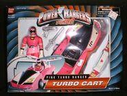 Pink Turbo Ranger Turbo Cart