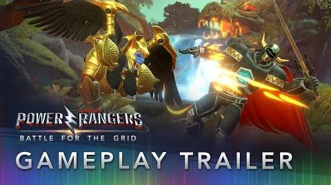 Power Rangers Battle for the Grid - Official Gameplay Trailer