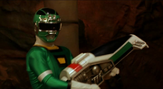 Turbo weapons green