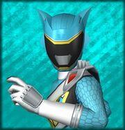 Kyoryu Cyan female (Dice-O)